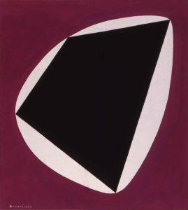 CONCRETO, 1954. Tempera su carta, cm 32,7x29,4