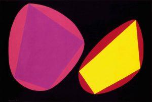 RAPPRESENTAZIONE CONCRETA, 1954. Tempera su carta, cm 32x47,2