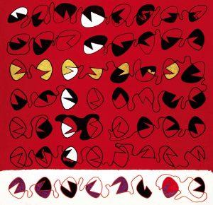 SPERIMENTALE CONCRETO, 1971. Tecnica mista su carta, cm 60,5x62,5