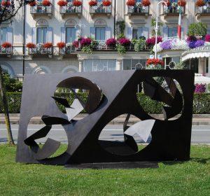 FUNZIONE CONCRETA, 1958. Ferro, 296x104x156h